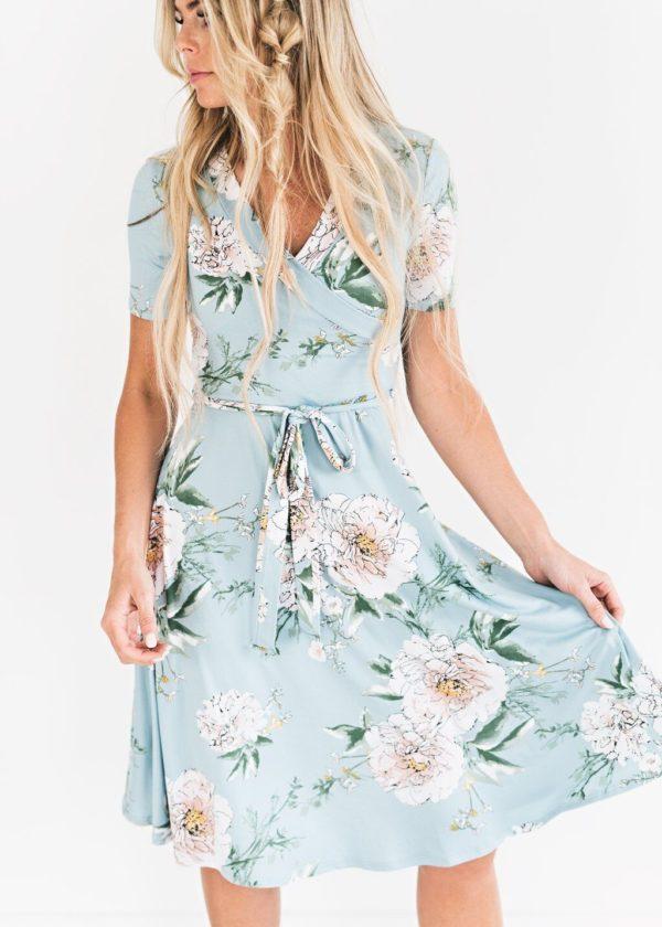 product image 1029092637 58f45abb 0bcf 46b5 8c06 c2143674a9e5 Robe Florale Bohémienne