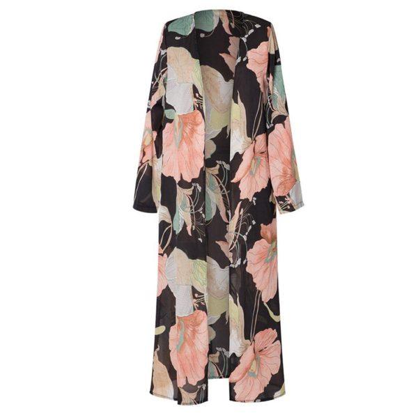 product image 1050648376 Kimono À Motif Floral