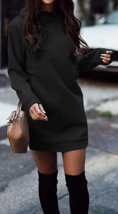 Robe Pull Casual Minute Mode Noir S