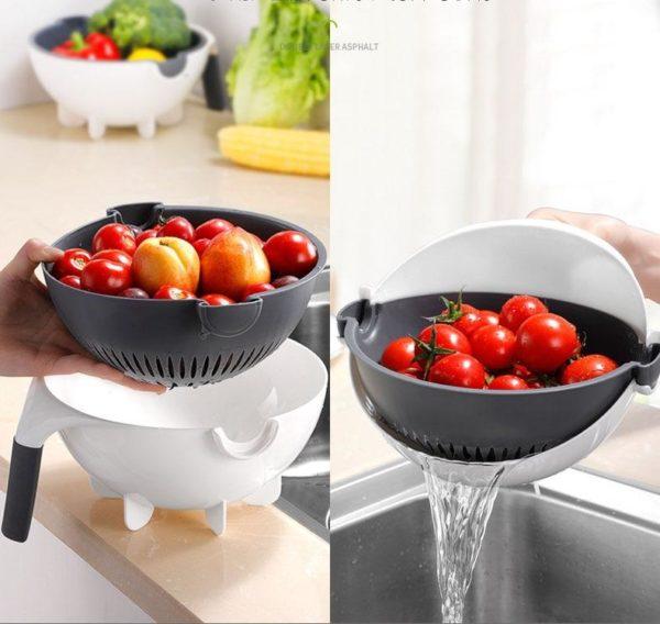 product image 1109043386 Hachoire Et Coupe-Légumes 7-En-1
