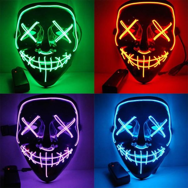 """product image 1125121109 Masque Lumineux """"The Purge"""" Halloween"""