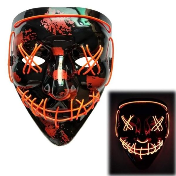 """product image 1125121115 Masque Lumineux """"The Purge"""" Halloween"""