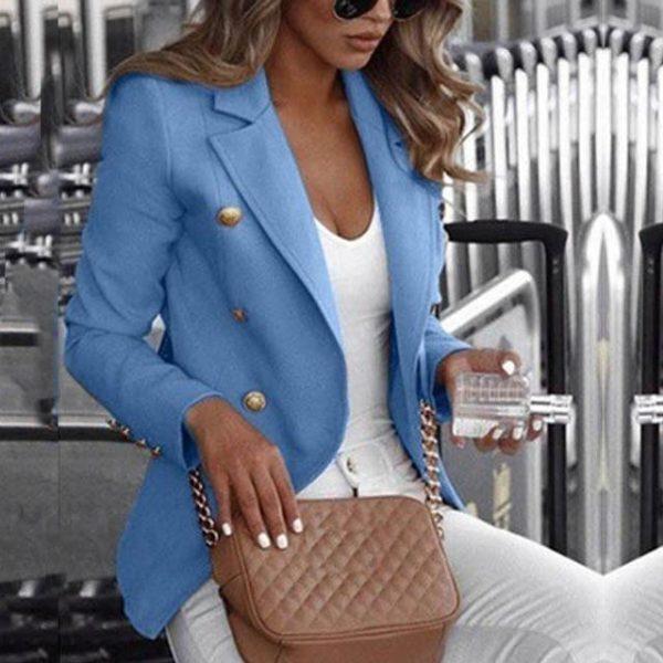 Blazer Elena Minute Mode Bleu S