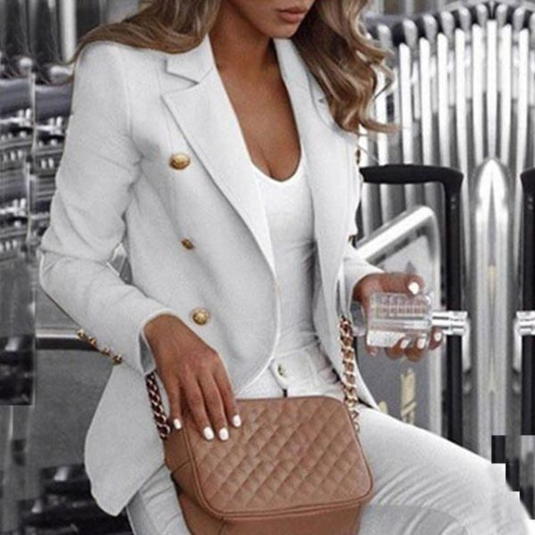 Blazer Elena Minute Mode Blanc S