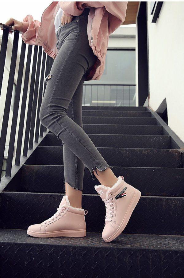 product image 1138811141 Chaussures Montantes Fourrées