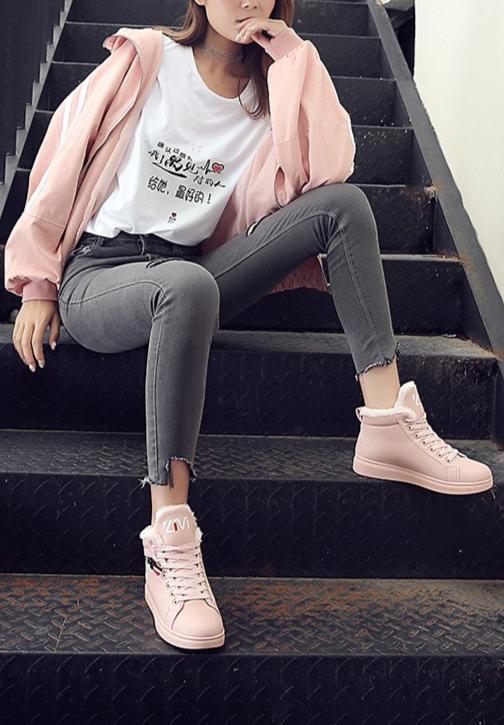 product image 1138811155 Chaussures Montantes Fourrées