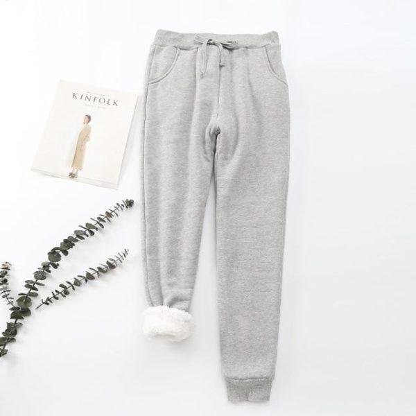 Pantalon Cosy Féminin Minute Mode Gris S-M
