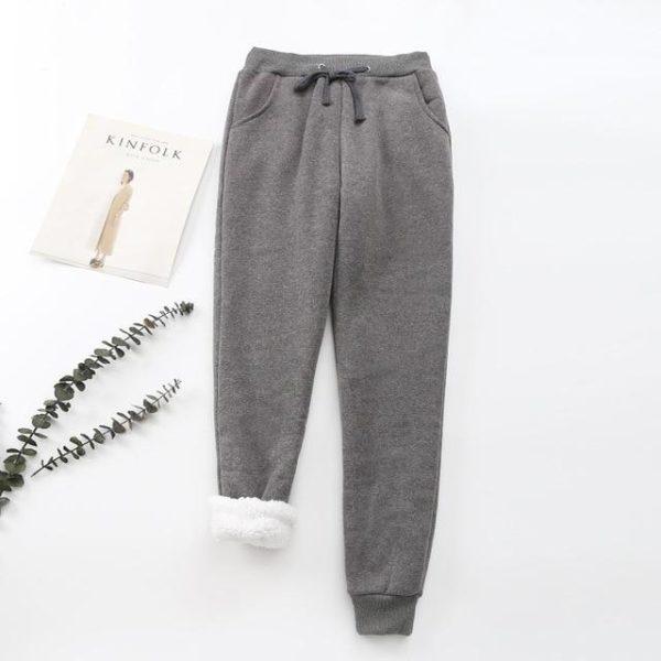Pantalon Cosy Féminin Minute Mode Gris foncé L