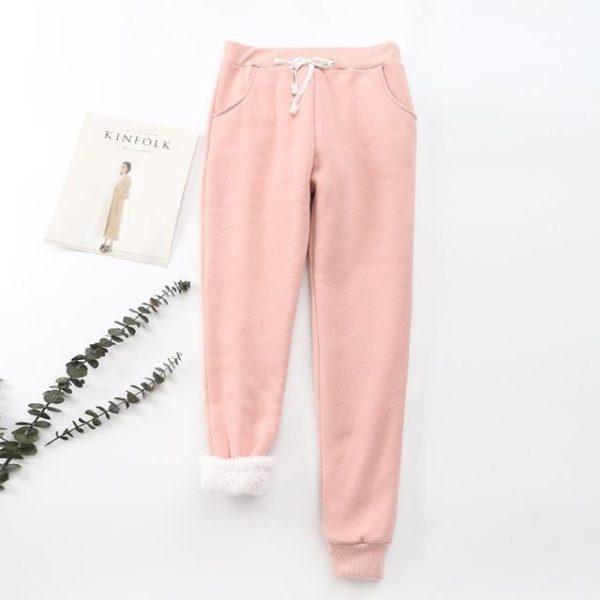 Pantalon Cosy Féminin Minute Mode Rose L