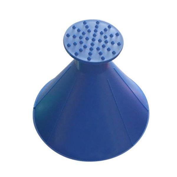 Grattoir à Glace Magique Raton Malin Bleu