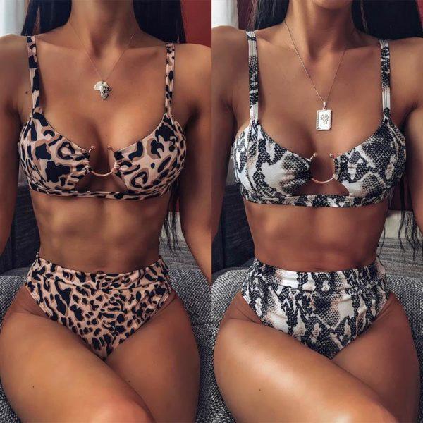 product image 1207874066 Bikini Brésilien Taille Haute