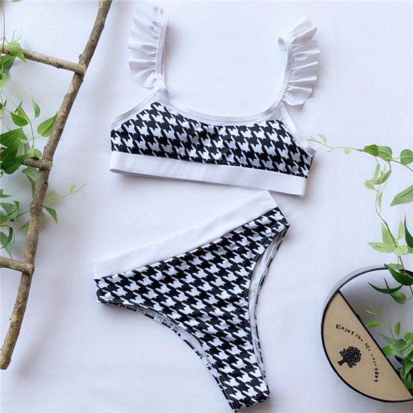 product image 1207874085 Bikini Brésilien Taille Haute