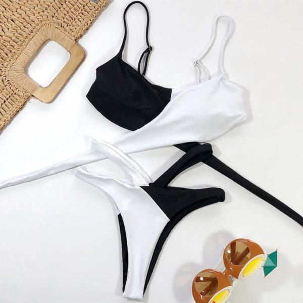 product image 1207874090 Bikini Brésilien Taille Haute