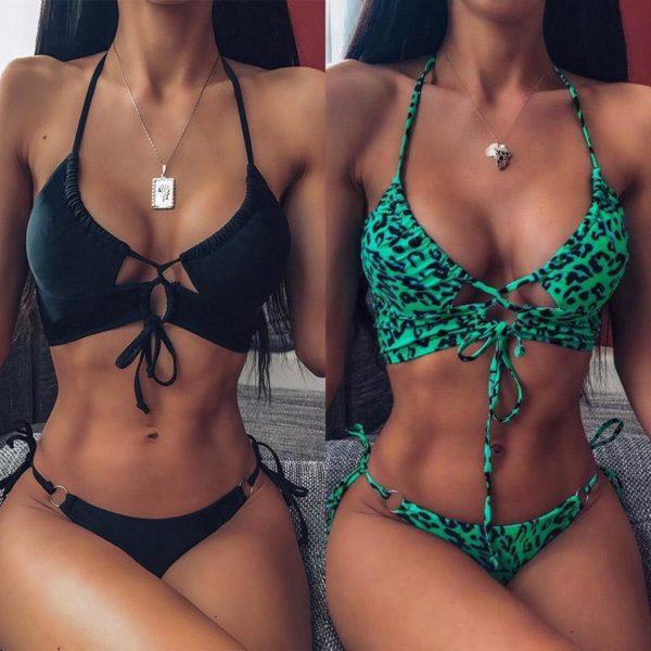 product image 1207874093 Bikini Brésilien Taille Haute