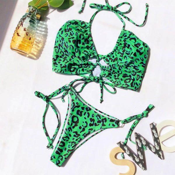 product image 1207874097 Bikini Brésilien Taille Haute