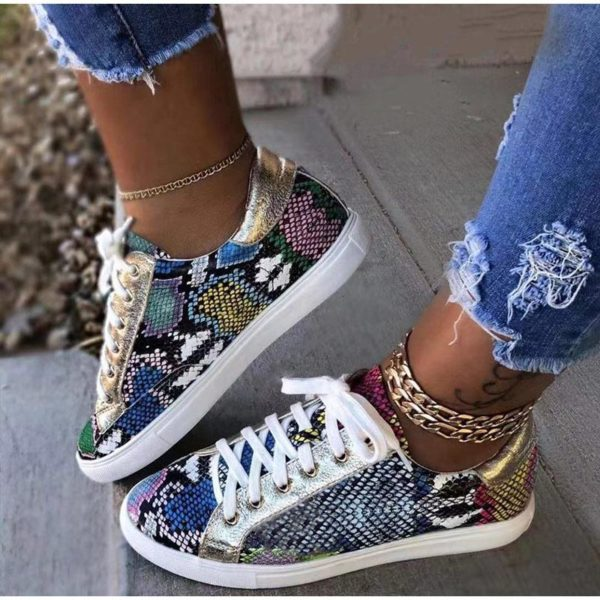 Chaussures Snake Minute Mode Multicolore 39