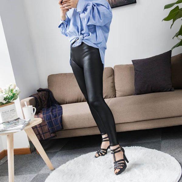 product image 1229869228 Legging En Cuir - Nouvelle Collection