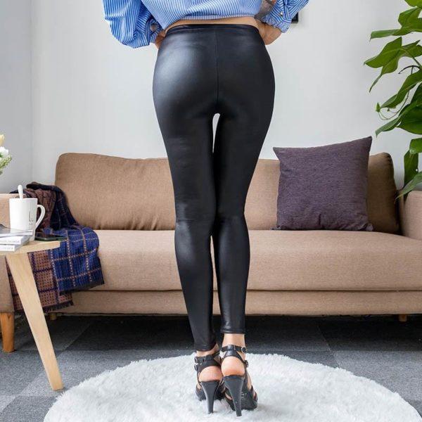 product image 1229869229 Legging En Cuir - Nouvelle Collection