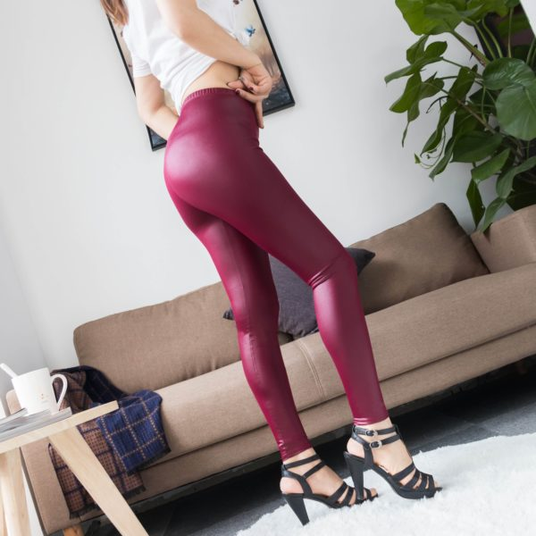 product image 1229869232 Legging En Cuir - Nouvelle Collection