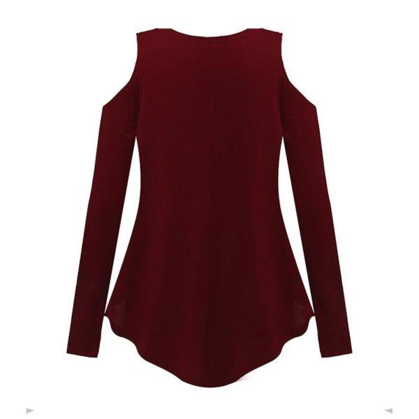 product image 128083496 Blouse Simple Épaules Dénudées