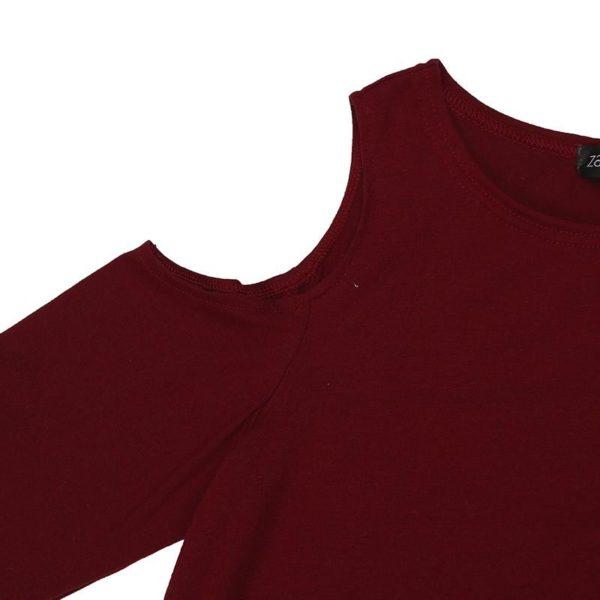 product image 128083498 Blouse Simple Épaules Dénudées