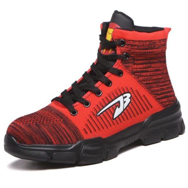 Chaussures Tout Terrain Indestructible J3 Raton Malin Rouge 47