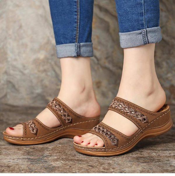 Sandales Casual pour Femmes Minute Mode