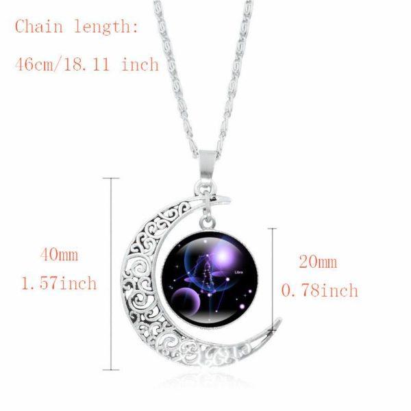 product image 1303994027 Collier Croissant De Lune