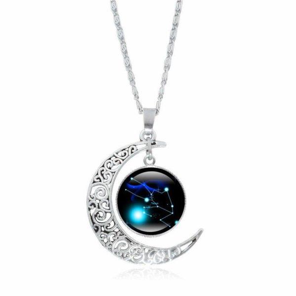 Collier croissant de lune Raton Malin Taureau