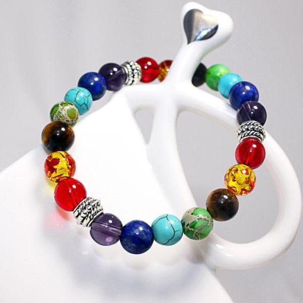 Bracelet 7 Chakras Raton Malin
