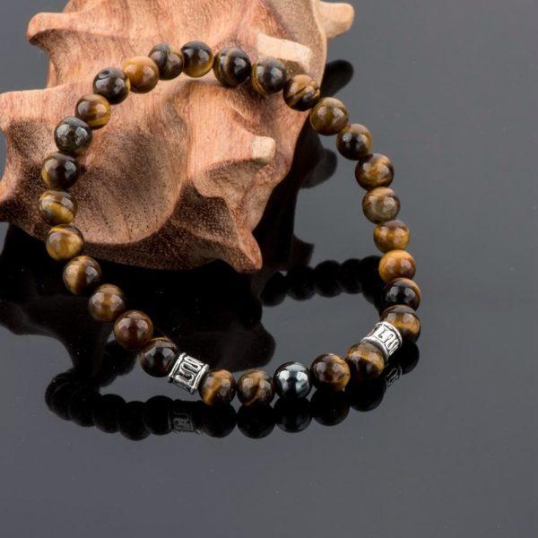 product image 1312422713 Bracelet De Guérison En Œil De Tigre Et Hématite