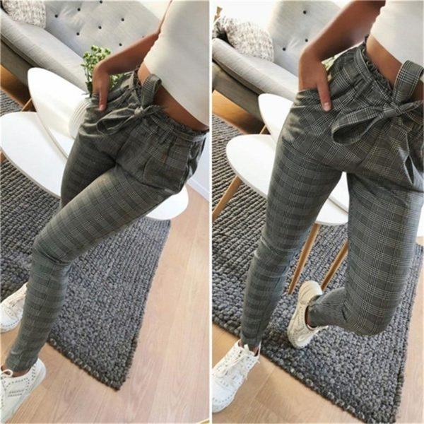 product image 1357444456 Pantalon Tendance Avec Cordon
