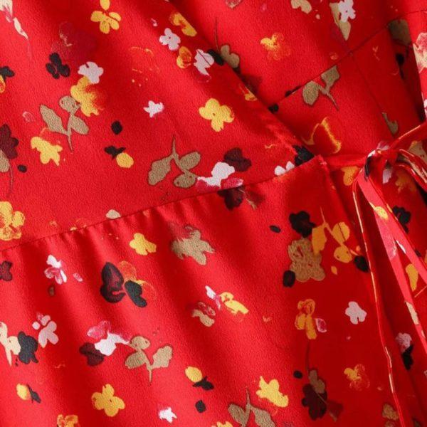 product image 1365633215 Robe Fendue À Motifs