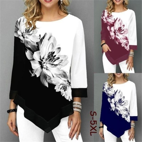 product image 1388058385 Blouse Florale Sublime