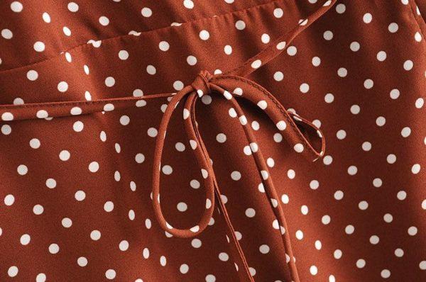 product image 1391916416 Robe Vintage À Pois