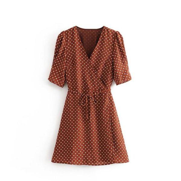 product image 1391916418 Robe Vintage À Pois