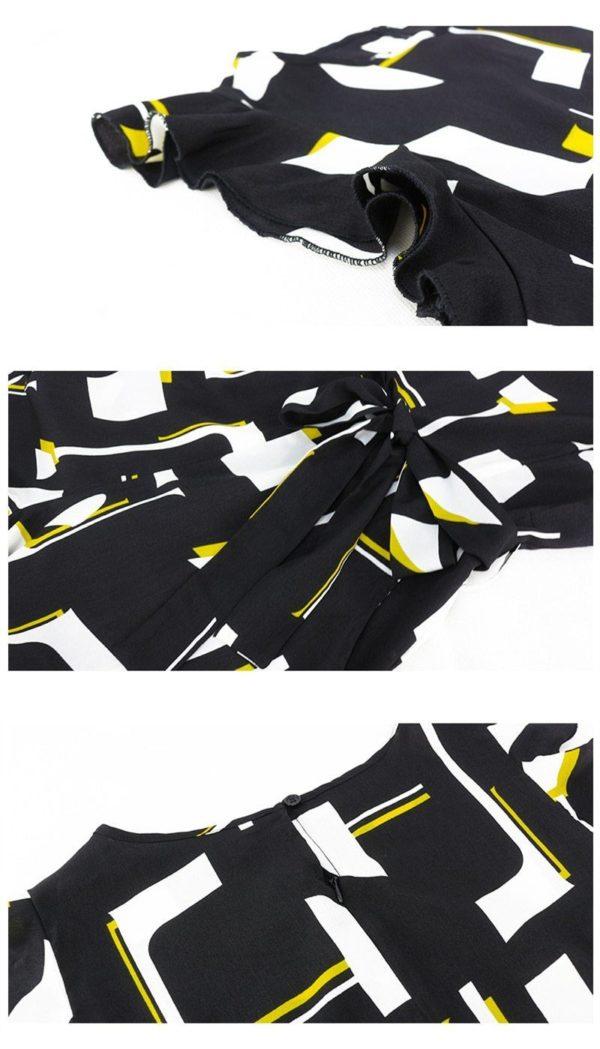 product image 1419400869 Combinaison Noire À Motifs