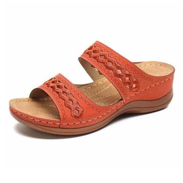 Sandales Casual pour Femmes Minute Mode Orange 38