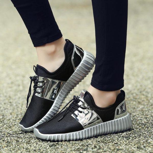 Chaussures Casual 2020 Minute Mode Argenté 35
