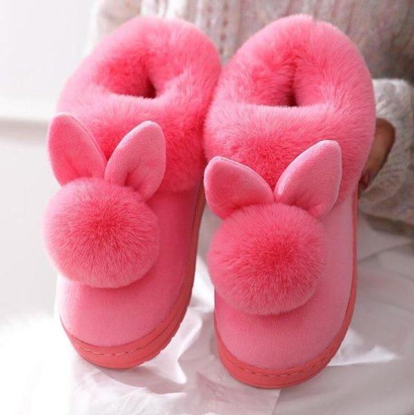 Pantoufles LAPIN Site Vêtements Rose 40-41