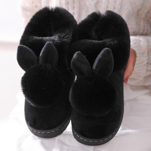 Pantoufles LAPIN Site Vêtements Noir 40-41