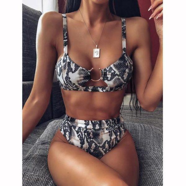 Bikini Brésilien Taille Haute Minute Mode Modèle 1 S
