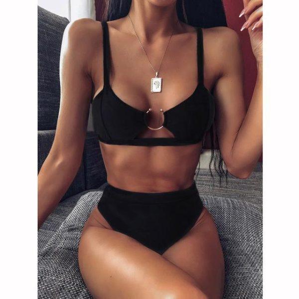 Bikini Brésilien Taille Haute Minute Mode Modèle 4 S