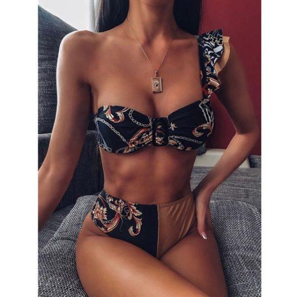Bikini Brésilien Taille Haute Minute Mode Modèle 6 S