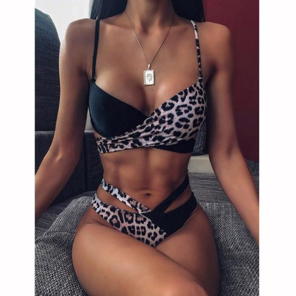 Bikini Brésilien Taille Haute Minute Mode Modèle 9 L