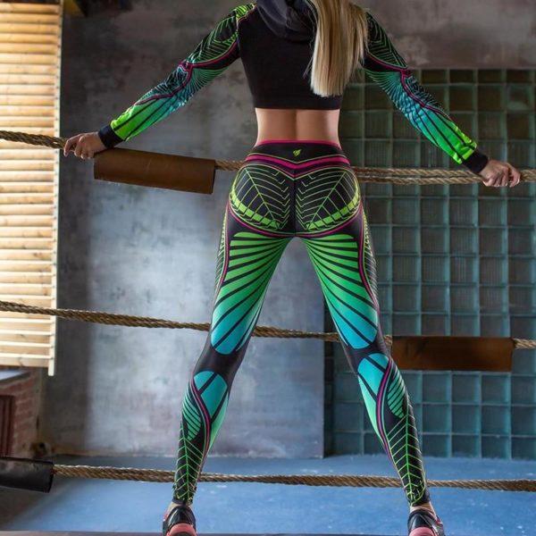 product image 1434487986 Legging Yoga Imprimé Floral