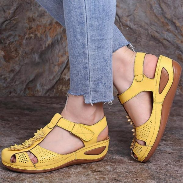 product image 1436168203 Sandales Orthopédiques À Fleurs