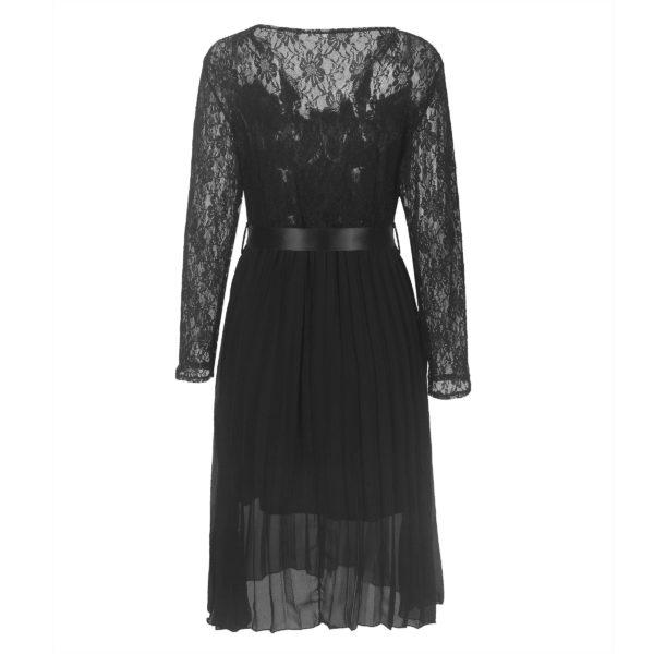 product image 1436931283 Robe Noire Plissée 2020