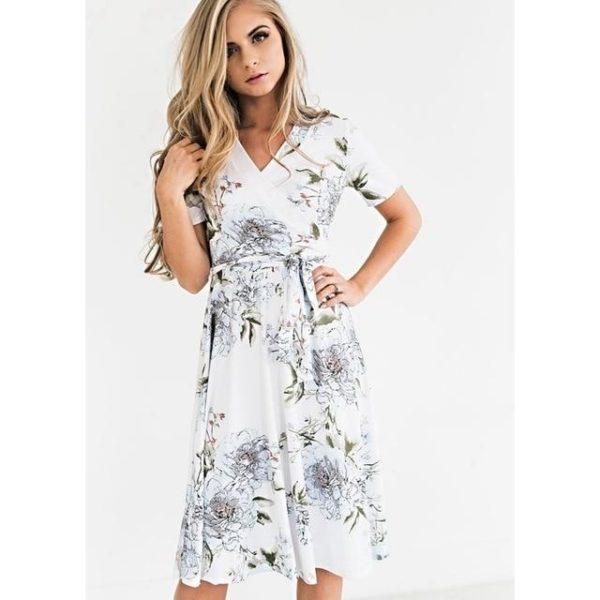 product image 1445778620 Robe Florale Bohémienne