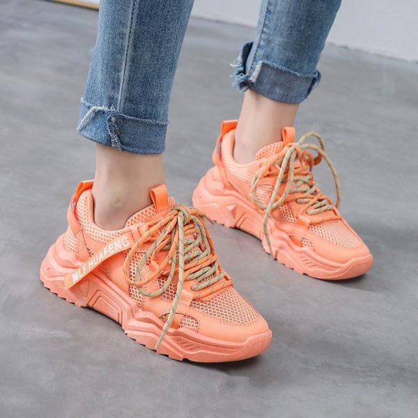 Baskets Colorées 2020 Minute Mode Orange 36